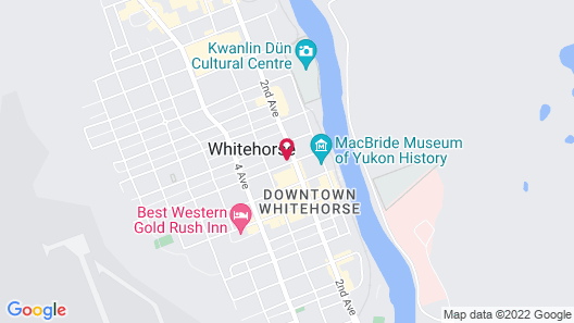 Sternwheeler Hotel and Conference Centre Map