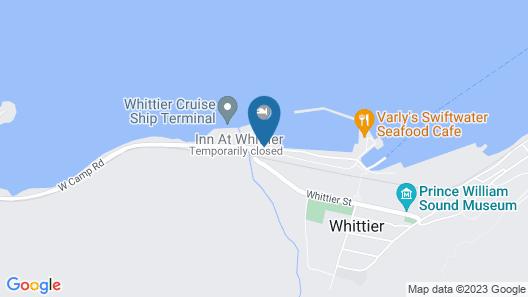 The Inn at Whittier Map