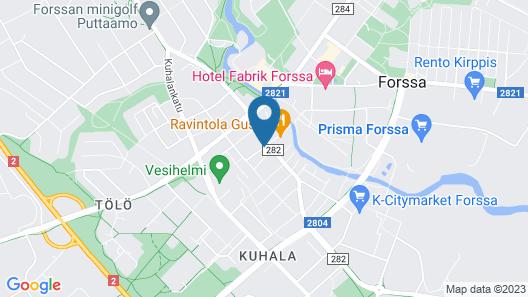 Hotelli Maakunta Map