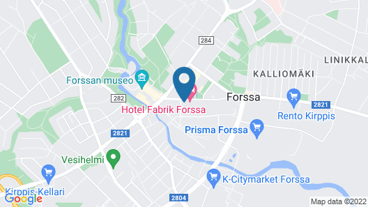 Hotel Fabrik Forssa Map