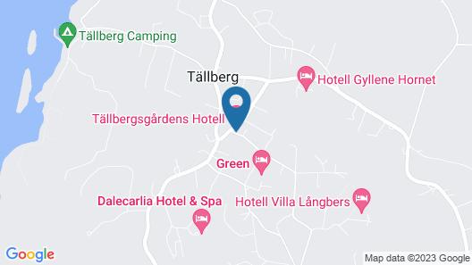 Tällbergsgårdens Hotell Map
