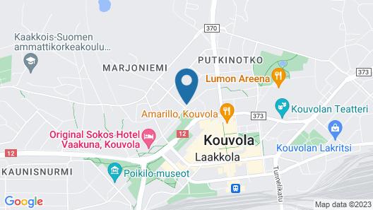 Original Sokos Hotel Vaakuna Kouvola Map