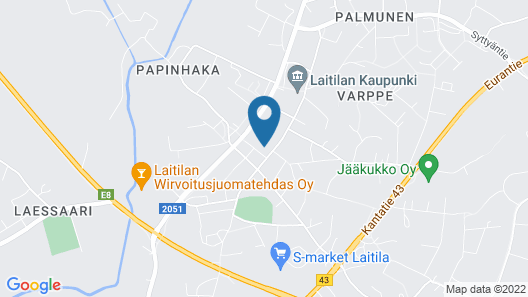 Laitilan Kievari Map