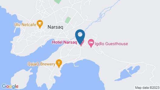 Hotel Narsaq Map