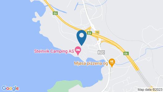 Steinvik Camping Map