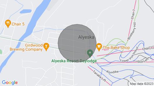 NEW! Girdwood Getaway w/Slope Views: Walk to Lift! Map
