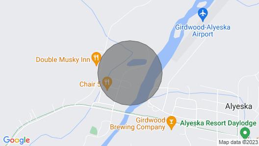 Girdwood/Alyeska Super Clean  Condo  w/view of Mt Alyeska w/ Private Hot Tub Map