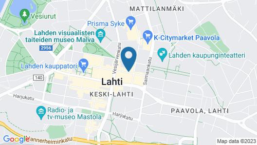 Scandic Lahti City Map