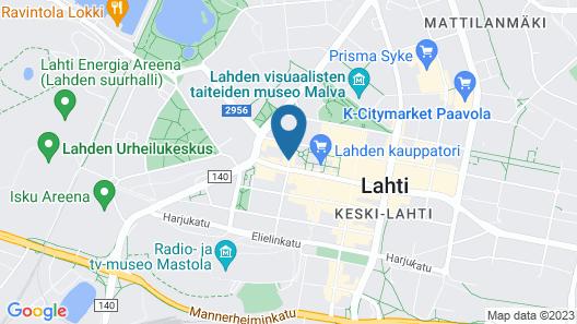 Forenom Aparthotel Lahti Map