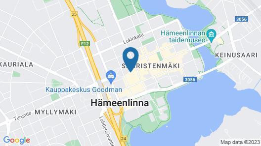 Scandic Hämeenlinna City Map