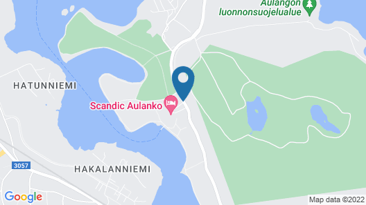 Scandic Aulanko Map