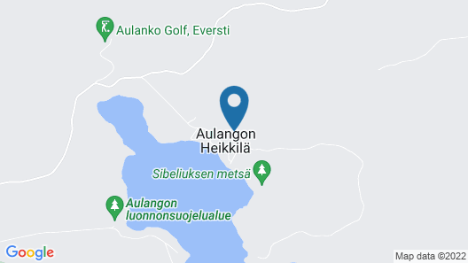 Peace and Privacy Travel - Aulanko Lake Hide-out Map