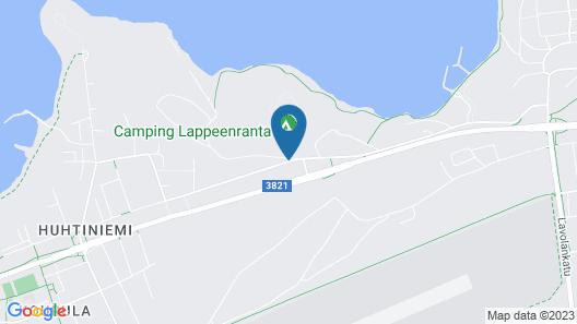 Huhtiniemi Camping Map