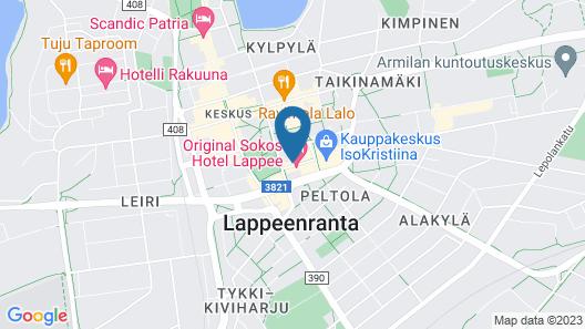 Original Sokos Hotel Lappee Map