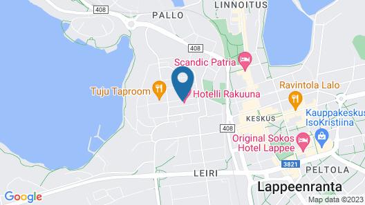Hotelli Rakuuna Map