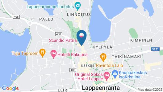 Scandic Patria Map
