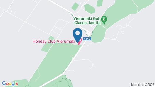 Holiday Club Vierumäki Superior Apartments Map