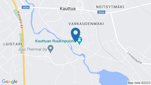 Ahlströmin Ruukki Kauttua Map