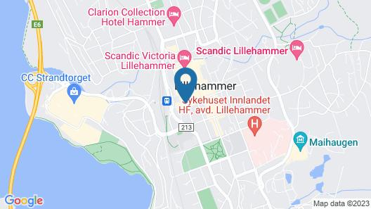 First Hotel Breiseth Map