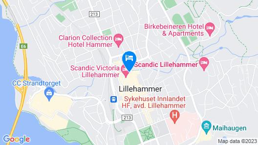 Scandic Victoria Map