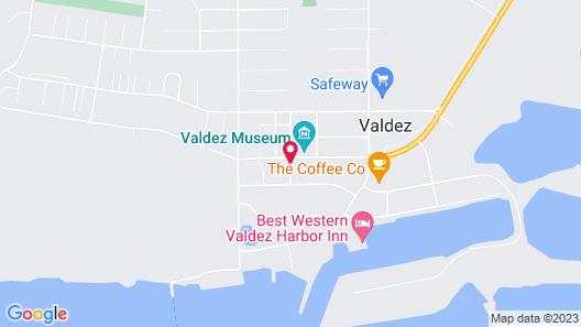 Glacier Hotel Map