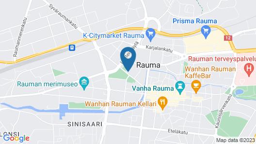 Hotel Raumanlinna Map