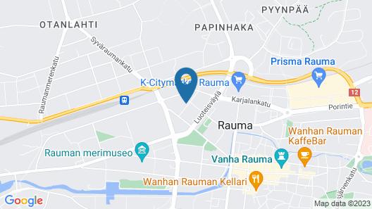 Place to Sleep Hotel Rauma Map