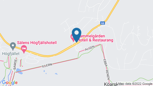 Gammelgården Hotell Map
