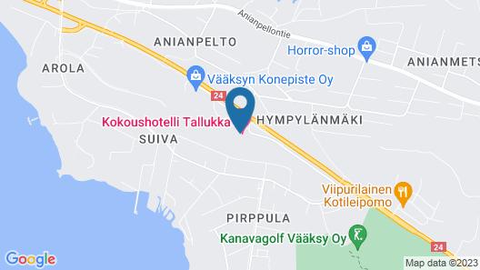 Hotelli Tallukka Map