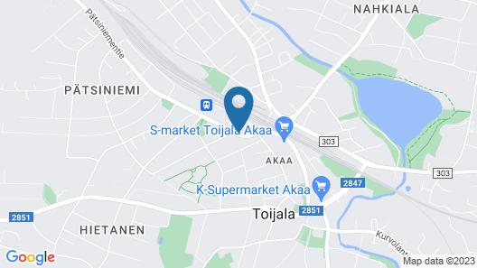 Hotel Ackas Map