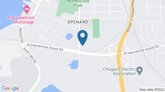 Microtel Inn & Suites by Wyndham Anchorage Airport Map