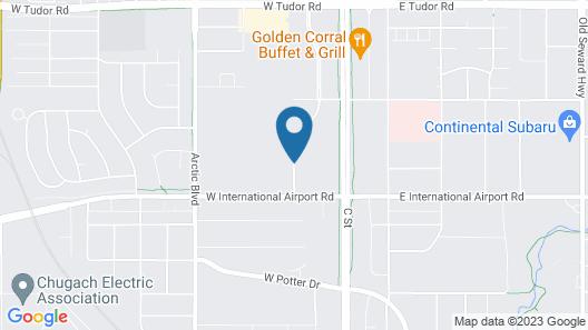 Hyatt House Anchorage Map