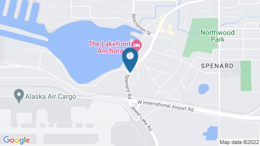 Courtyard by Marriott Anchorage Airport Map