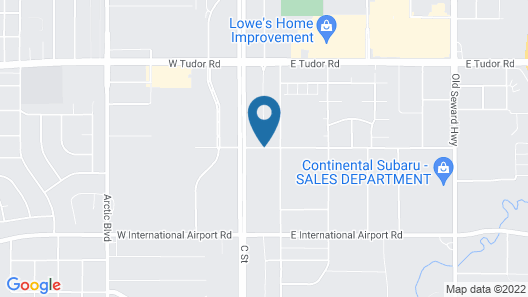 Home2 Suites by Hilton Anchorage / Midtown Map