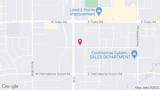 Homewood Suites by Hilton Anchorage Map