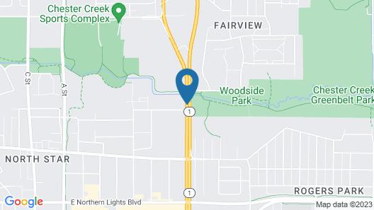 Creekwood Inn Map
