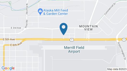 Merrill Field Inn Map