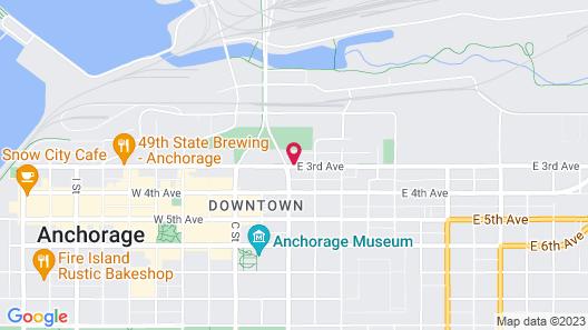 Ramada by Wyndham Anchorage Map