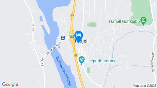 Scandic Hafjell Map