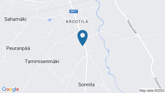 Anttilan Tila - Kartano Hostel Map