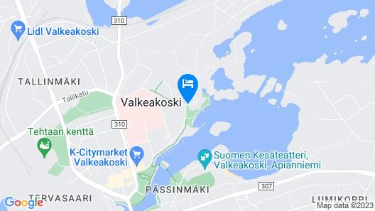 Hotel Waltikka Map