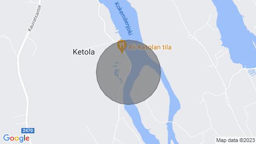 Riverside Villa Koski-Ketola Map
