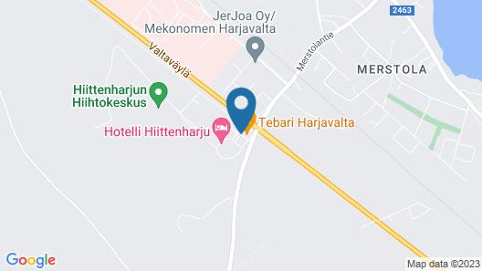 Finlandia Hotel Hiittenharju Map