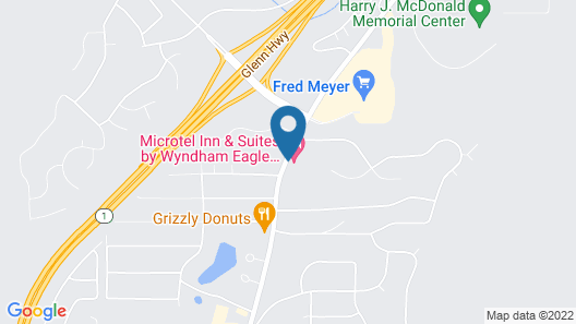 Microtel Inn & Suites by Wyndham Eagle River/Anchorage Area Map