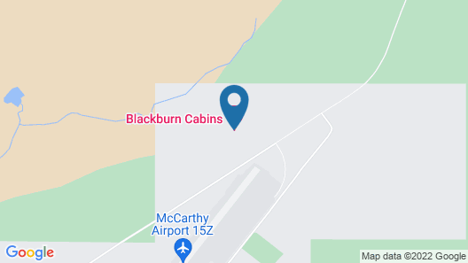 Blackburn Cabins Map