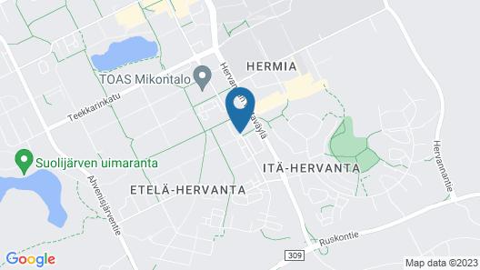 Hotel Hermica Map