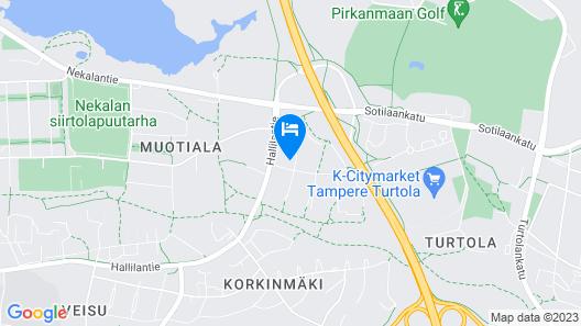 Hiisi Homes Tampere Muotiala Map