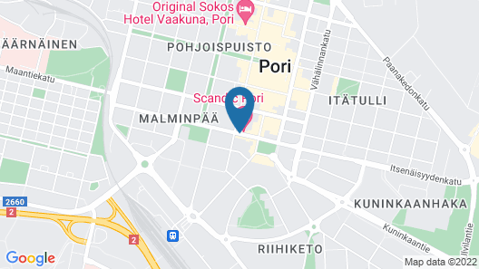 Scandic Pori Map
