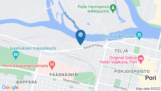 Hostel River Pori Map