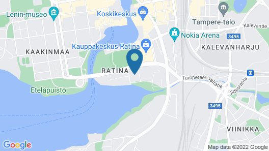 City Home Finland Ratina Stadion Map